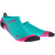 cep No Show Running Socks Women pink/turquoise